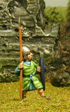 F13 Early Medieval: Spearman with Kite Shield & Helmet with nasal