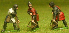 F20a Early Medieval: Assorted Heavy Crossbowman, loading