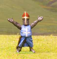 F25 Early Medieval: Dismounted Bishop with arms outstretched