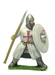 F42a Early Medieval: Assorted dismounted Sergeants with Round Shields