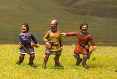 F62 Early Medieval: Slingers, mixed poses