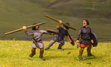 F63 Early Medieval: Light Javelinmen with separate Round Shield