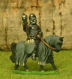 FAN100 Knights of Evil: Knight holding Barbed Lance on charger