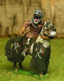 FAN102 Knights of Evil: Knight holding Barbed Lance on charger