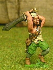 FAN111 Wood Elf: Two Handed Swordsmen