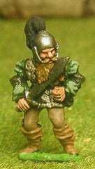FAN13 Adventurer: Fighter in Padded Jack with Plumed Helmet & Sword