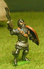 FAN15 Adventurer: Fighter in Mail and Armour, Helmet with Aventail, with Kite Shield and Sword