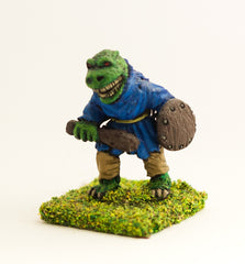 FAN50 Scaley Orc: Rabble with Club and Shield