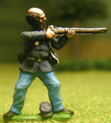 UN2 Union Infantry: Firing, in Kepi & Sack Coat (assorted)