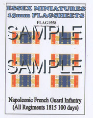 Flag 1558 Napoleonic: French Guard Infantry (All Regiments 1815 100 days)