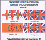 Flag 156 Napoleonic: English Foot Regiments # 2