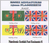 Flag 157 Napoleonic: Scottish Foot Regiments # 1