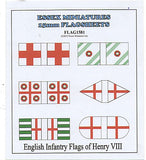 FLAG1581 English Infantry Flags of Henry VIII