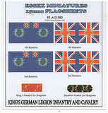 FLAG1583 King's German Legion Infantry and Cavalry