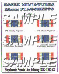 Flag 159 Napoleonic: French Line Infantry 1812-15 # 2