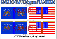 Flag 2521 American Civil War: Union Infantry #1