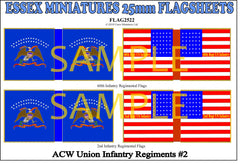 Flag 2522 American Civil War: Union Infantry # 2