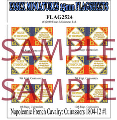 Flag 2524 Napoleonic: French Cavalry Cuirassiers 1804-12 # 1