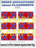 Flag 253 American Civil War: Confederate Regulation Battle Flags # 1