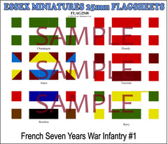 Flag 2548 American Civil War: French Infantry # 1
