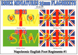 Flag 255 Napoleonic: English Foot Regiments # 1