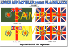 Flag 257 Napoleonic: Scottish Foot Regiments # 1
