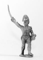 FN126 Light Infantry (Leger) 1804-12: Officer in Bicorne