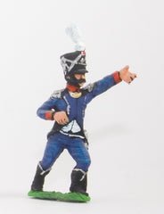 FN128 Light Infantry (Leger) 1804-12: Standard Bearer in Shako
