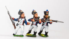 FN152 Infantry 1815: Fusilier, charging, assorted poses