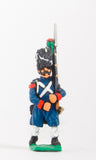 FN17 Chasseur 1804-12: in Great Coat and Bearskin, advancing