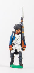 FN22 Line Infantry 1804-12: Fusilier in Chapeau advancing