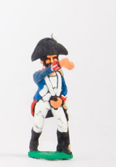 FN28 Line Infantry 1804-12: Standard bearer in Chapeau advancing