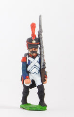 FN44 Line Infantry 1804-12: Voltiguer in Shako advancing