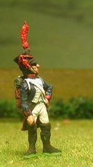 FN61 Line Infantry 1804-12: Standard Bearer in Shako at attention