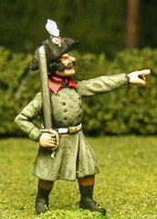 FN68 Line Infantry 1804-12: Officer in Greatcoat & Chapeau, advancing