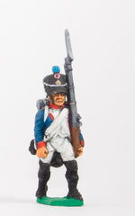 FN42 Line Infantry 1804-12: Fusilier in Shako advancing