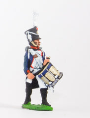 FN46 Line Infantry 1804-12: Drummer in Shako advancing