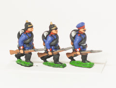 PO1a Prussian: Infantry: At the trail, variants