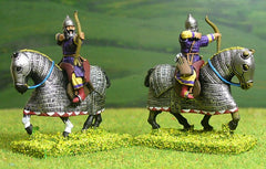 2WP Islamic Persian: Heavy Cavalry in padded coat, firing bow
