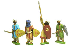 ABR1a Arab: Spearmen, assorted poses, kite shields