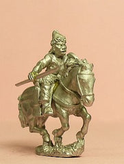 AK5 Jurchen Auxiliary Light Cavalry with Javelin, Bow & Shield