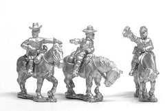 BG37Union: Command: Mounted General & two Staff Officers