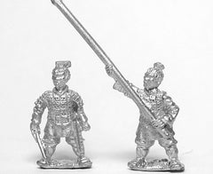 CHN21 Chin Chinese: Command: Foot Officers and Standard Bearers
