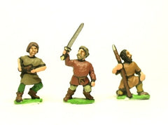 DGS11 Dark Age: Hordes - mixed figures and weapons