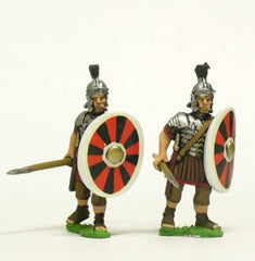 EXR36 Legionary, 2nd & 3rd Century, in Segmenta Armour, advancing