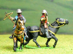 F10 Early Medieval: Mounted Crossbowman (variants)