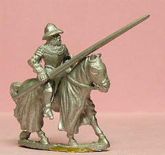M30Mounted Knight c.1400 in Plate Armour & Kettle Helm