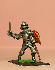 M41 Dismounted Knight c.1435 in Plate Armour and Sallet