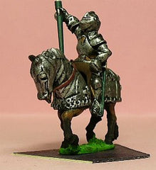 M44Mounted Knight c.1450 in Plate Armour & Great Bascinet