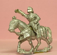 M46 Mounted Knight c.1465 in Gothic armour & Sallet
